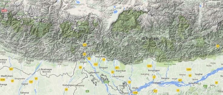 BhutanTerrain