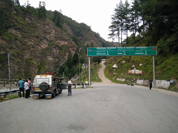 Road To Thimphu