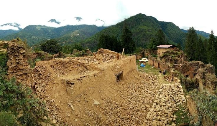 Drukgyel Dzong ruins