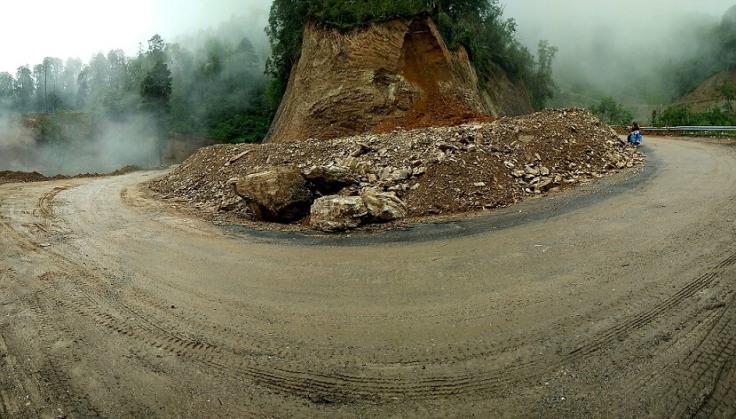 Teaser landslide